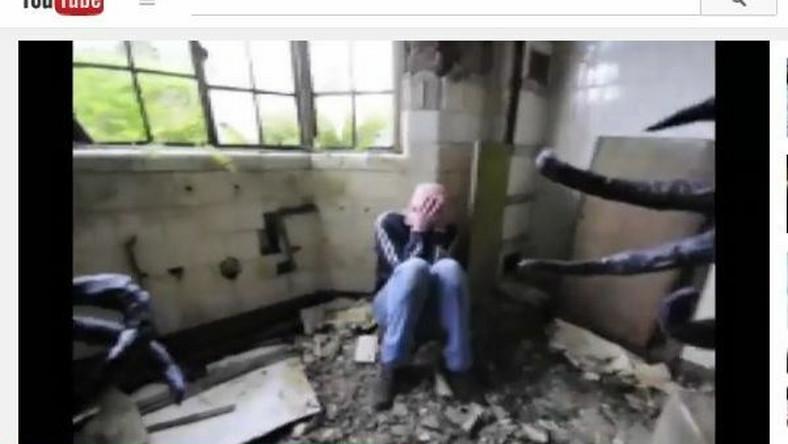 człowiek-sowa straszy w szpitalu