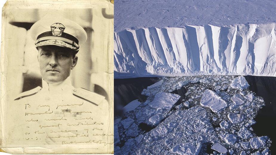 Lot Richarda Byrda nad Antarktydą - tajemnicze istoty, utajnione relacje, teorie spiskowe