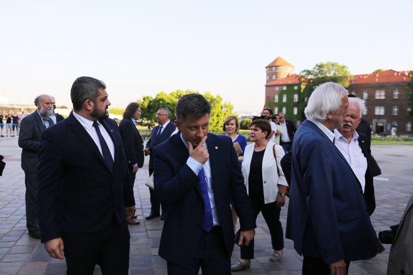 Krzysztof Sobolewski, Michał Dworczyk, Beata Szydło, Ryszard Terlecki.
