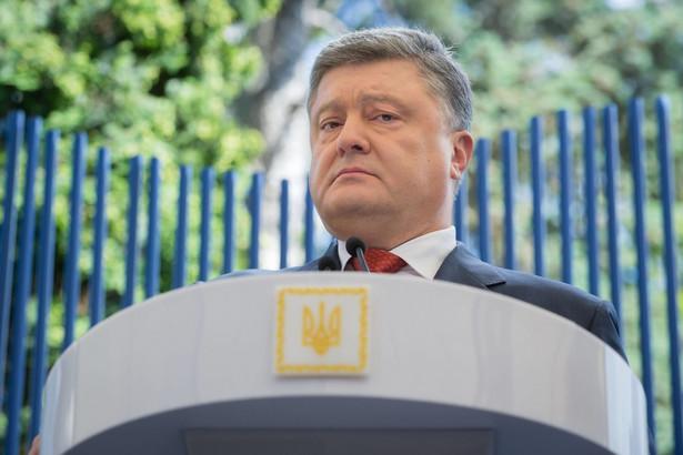 Prezydent oświadczył też, że Ukraina może liczyć na zwycięstwo, jeśli będzie dysponowała wysoko wykwalifikowanymi, patriotycznymi, dobrze wyposażonymi i przygotowanymi siłami zbrojnymi, przy poparciu ze strony cywilizowanego świata.