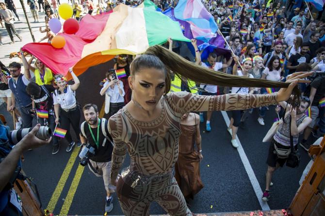 Scena sa Parade ponosa