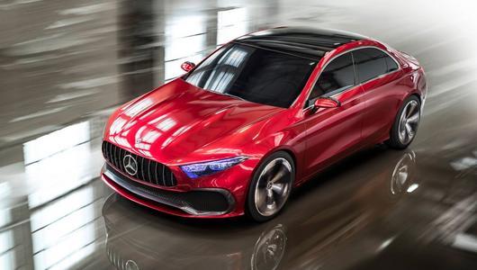 Nowa platforma Mercedesa dla 8 modeli FWD
