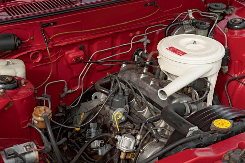 Silnik o pojemności 1,2 l i oznaczeniu 3K był najmniejszą jednostką montowaną w trzeciej generacji Corolli