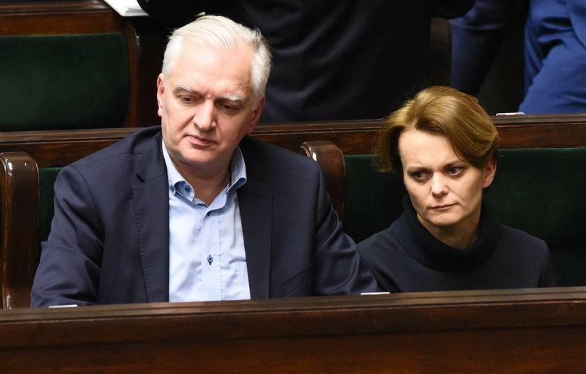 Jarosław Gowin i Jadwiga Emilewicz