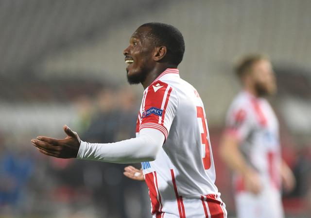 El Fardu Ben na meču FK Crvena zvezda - Slovan Liberec