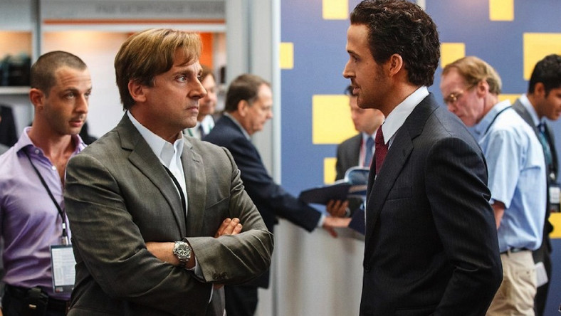 Steve Carell i Ryan Gosling rządzą na Wall Street