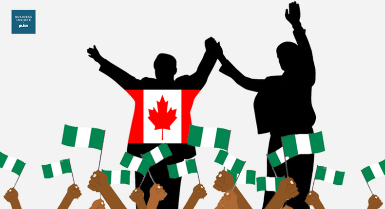 Nigerians celebrate election victory of Justin Trudeau