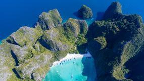 """""""Niebiańska plaża"""" w Tajlandii będzie zamykana, by chronić rafę koralową"""