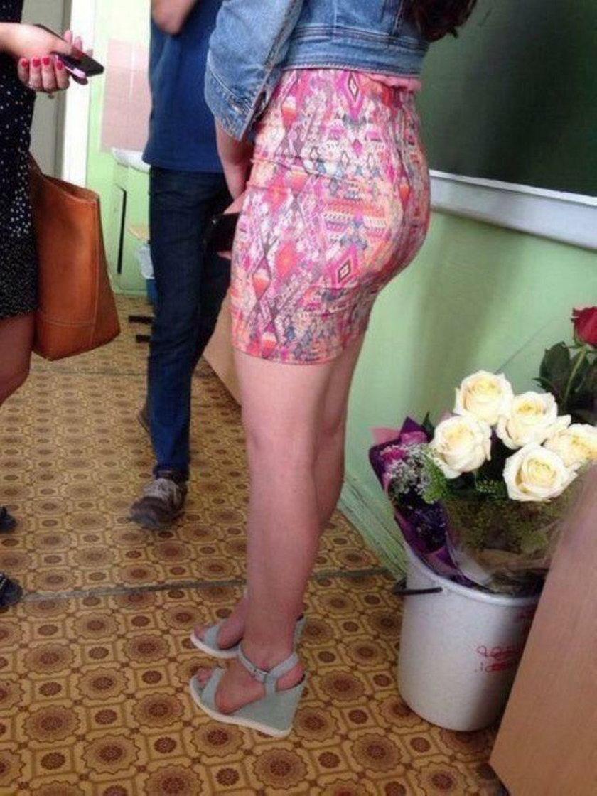 Rosyjskie uczennice już szykują się do szkoły