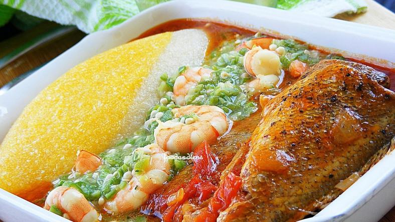 Local dish How to prepare 'Eba and 'okro' soup [ARTICLE] - Pulse Ghana