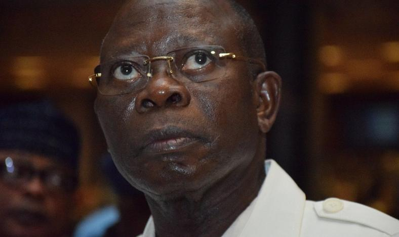 APC national chairman, Adams Oshiomhole, was jeered by the party's hostile crowd at the Ogun State rally
