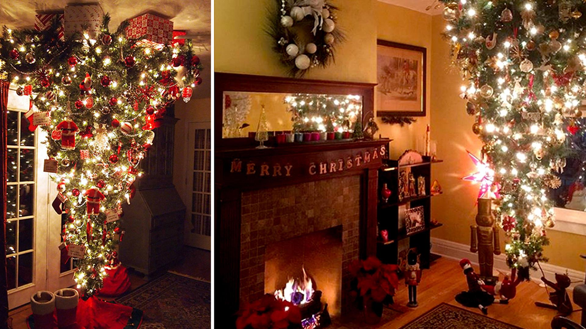 fdfa639804 Hitom tohtoročných Vianoc je stromček obrátený naopak