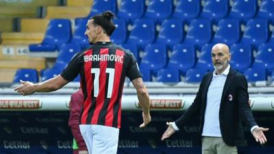 Ibrahimovic sees red but Milan see off Parma