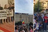 protest rumunija kombo