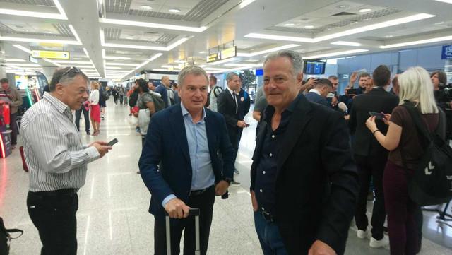 Selektor Tumbaković sa Nenadom Bjekovićem