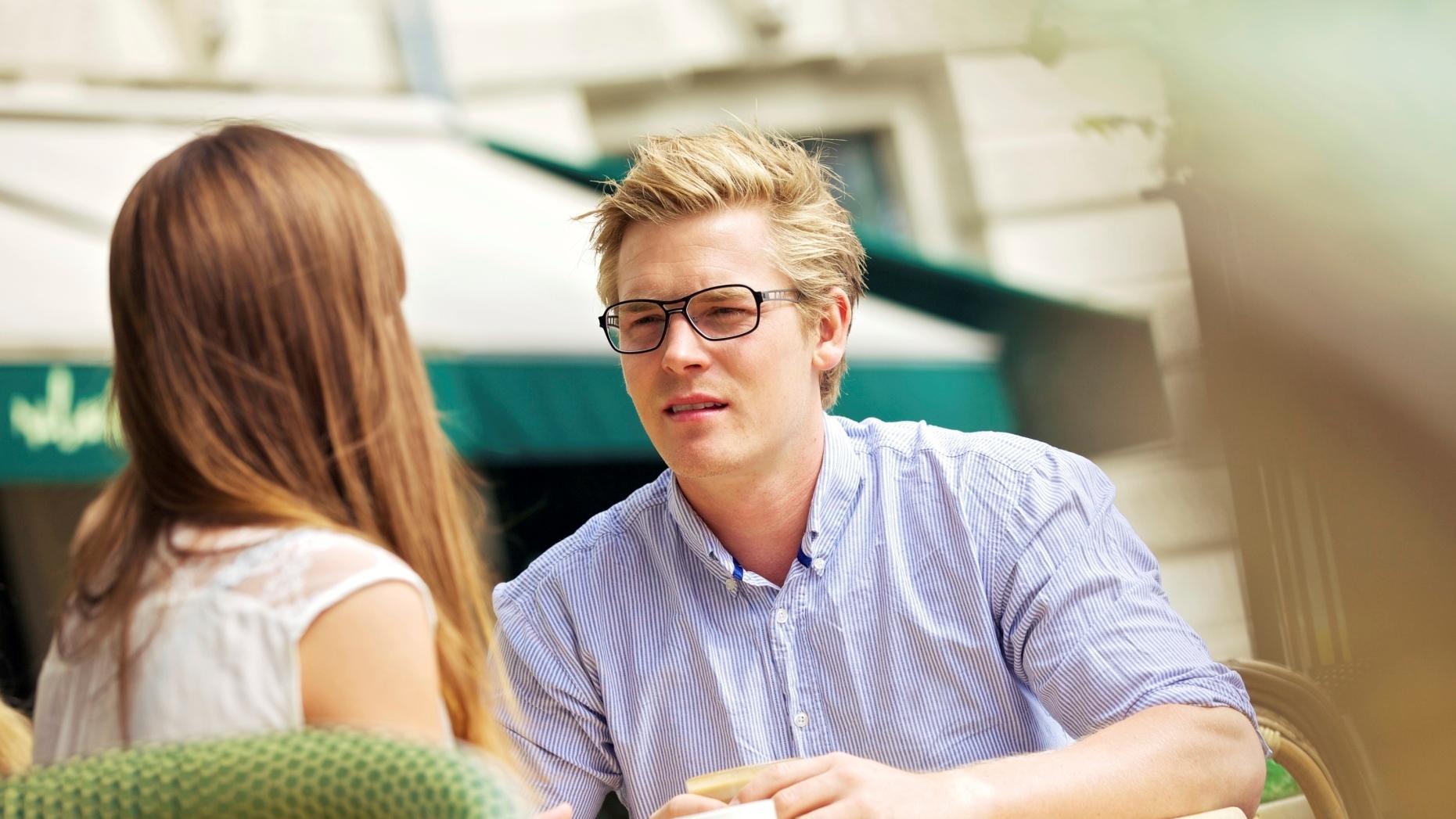 spotkać się na randce na lunch