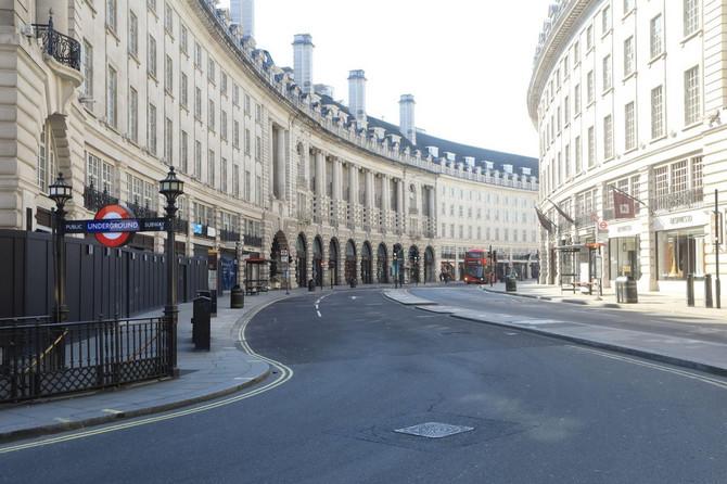 London pre nekoliko dana