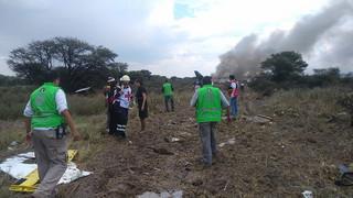 Meksyk: Samolot pasażerski rozbił się tuż po starcie. Jest wielu rannych