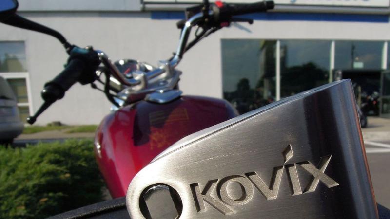 Blokada motocyklowa z alarmem Kovix KNL14