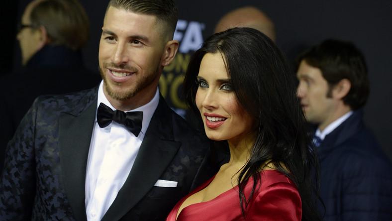 Sergio Ramos z partnerką Pilar Rubio
