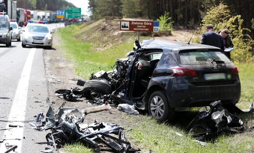 Koszmarny wypadek na S3