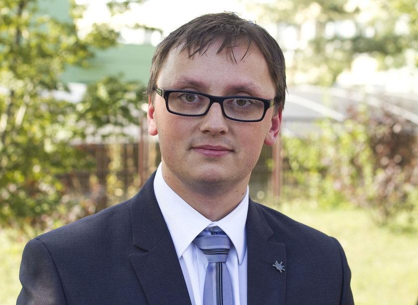 Rafał Łysy, rzecznik UM w Sosnowcu