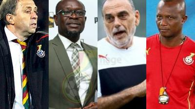 Here's the full list of Black Stars coaches since Ghana's first World Cup