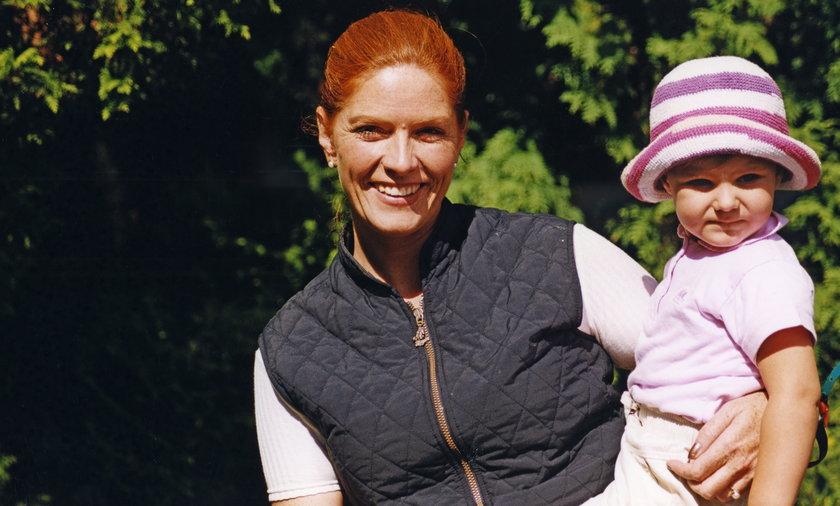 Katarzyna Dowbor ze swoją córką Marysią.