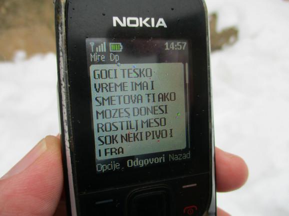 Poslednja poruka koju je poslao Miroslav Mitić komšiji Goranu Filipoviću, tri dana pre nego što je pronađen mrtav