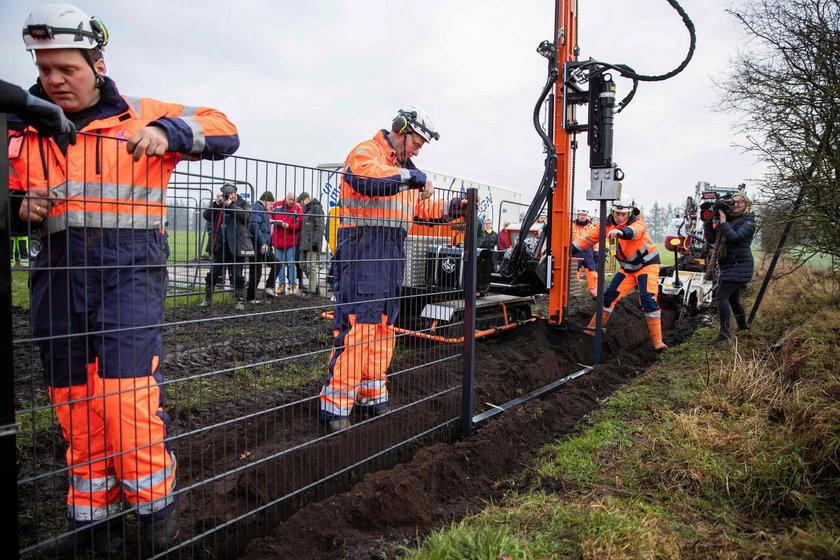 Duńczycy budują płot na granicy z Niemcami