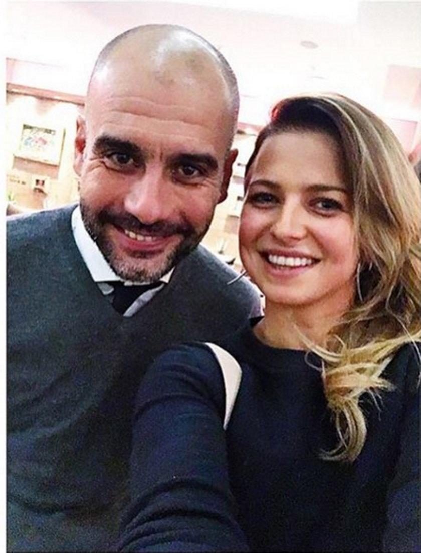 Anna Lewandowska komplementuje Pepa Guardiolę. Trener Bayernu Monachium i wyjątkowe selfie