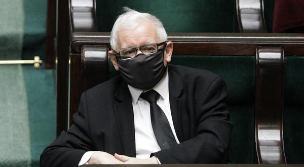 Jarosław Kaczyński w Sejmie