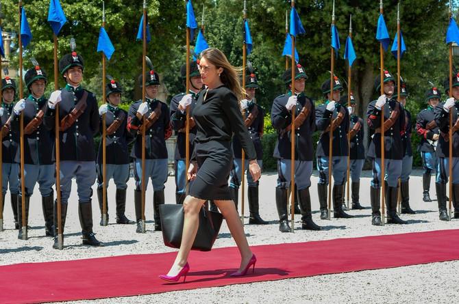 Marija Elena Boski 2015. u Rimu