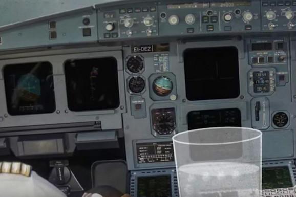 NEVEROVATNA PRIČA Kako je jedna ČAŠA VODE sprečila pad aviona i veliku tragediju