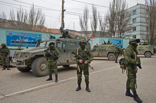 Żołnierze na Krymie