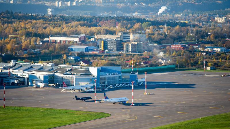 Lotnisko w Wilnie