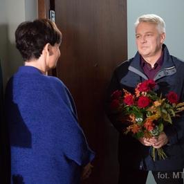 """""""M jak Miłość"""": jak daleko posunie się Bilski, walcząc o związek z Marysią?"""