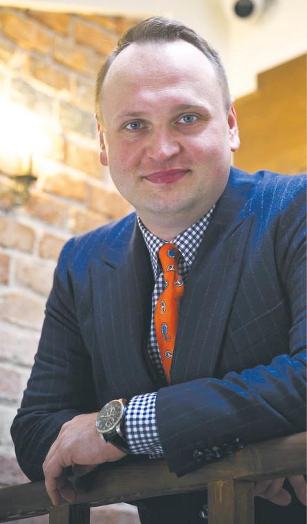 Michał Cebula, prezes HRE Think Tank, ekspert rynku nieruchomości. Współpracuje m.in z agendą Organizacji Narodów Zjednoczonych UN Global Compact oraz Bankiem Światowym  fot. Wojtek Górski