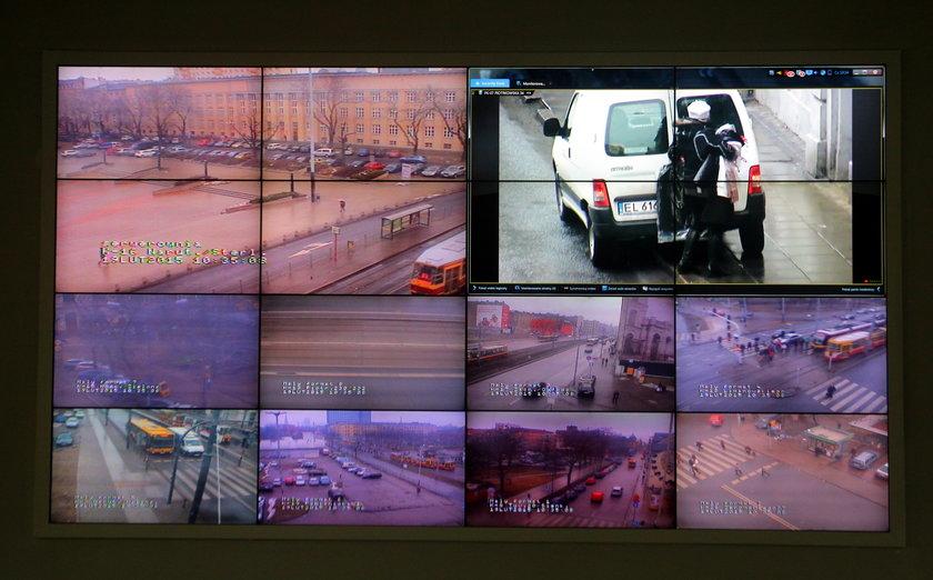 Będzie więcej kamer w Łodzi. Rozbudowują monitoring