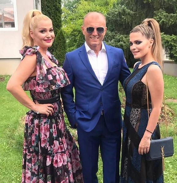Sanja Đorđević sa suprugom i ćerkom
