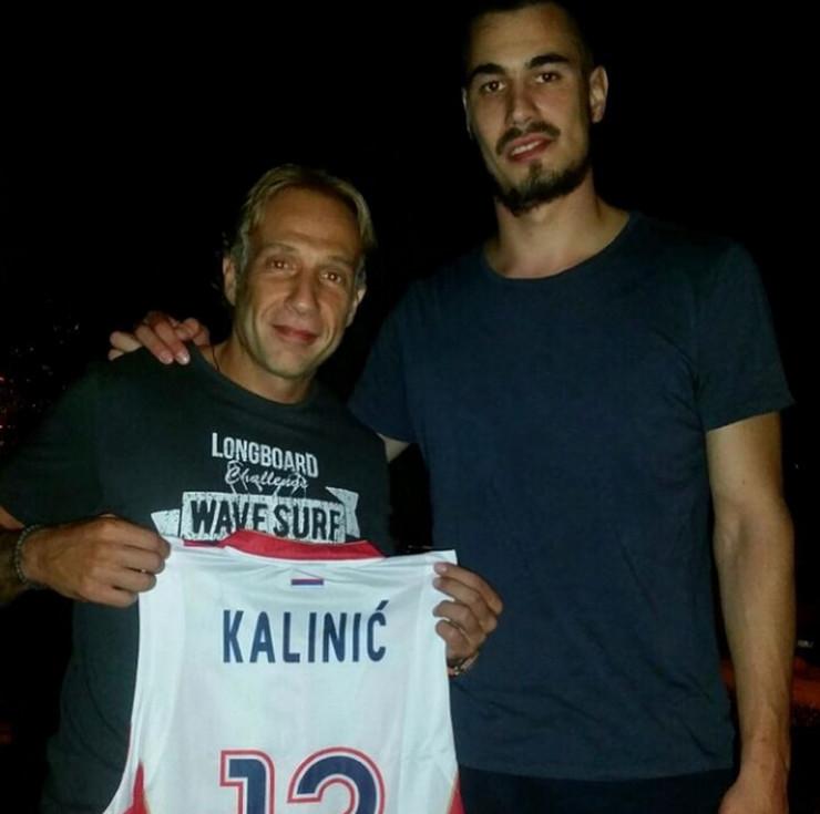 Nikola Kalinić i Milan Kalinić