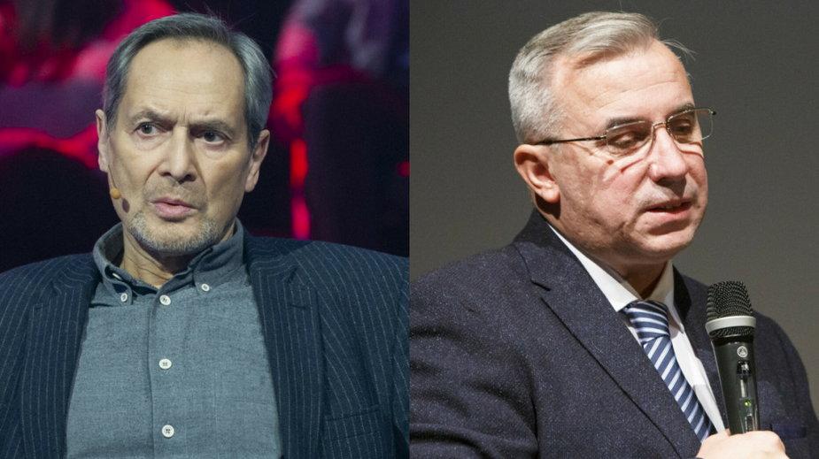 Jerzy Zelnik (fot. Natasza Mludzik/TVP/East News) i Wojciech Sumliński