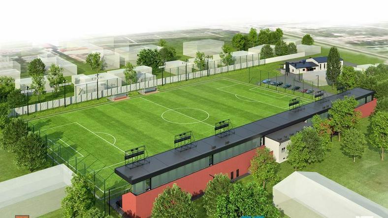 Tak ma wyglądać stadion Prądniczanki po przebudowie