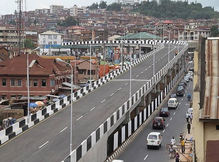 One of the flyovers built during the administration of Senator Ibikunle Amosun in Ogun State.