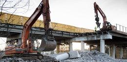 Wyburzają wiadukt w Dąbrowie Górniczej