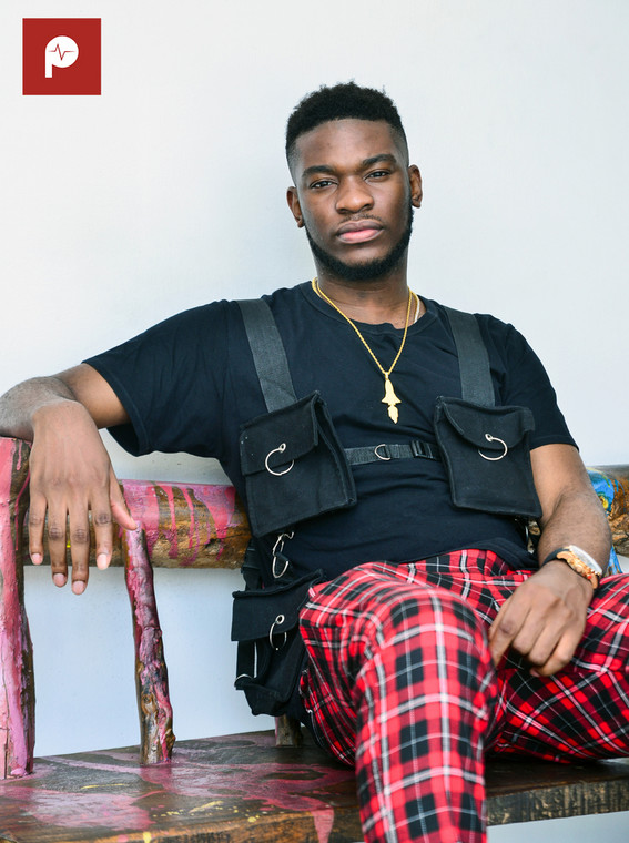 At the start of his career, Nonso Amadi was a rapper who became a singer over necessity for sung choruses. (Pulse Nigeria)