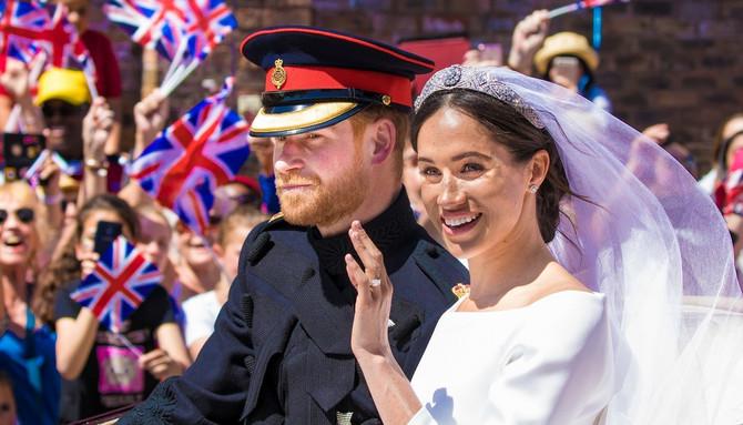 Megan i princ Hari na venčanju
