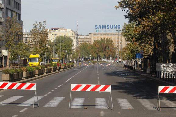 Biće zatvorene mnoge ulice u centru grada