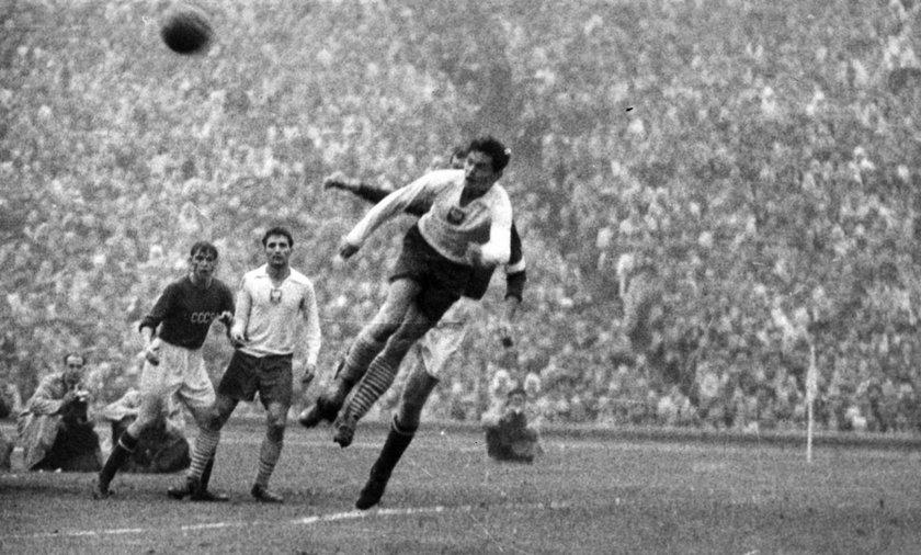 Mecz Polska-ZSRR w 1957 r.