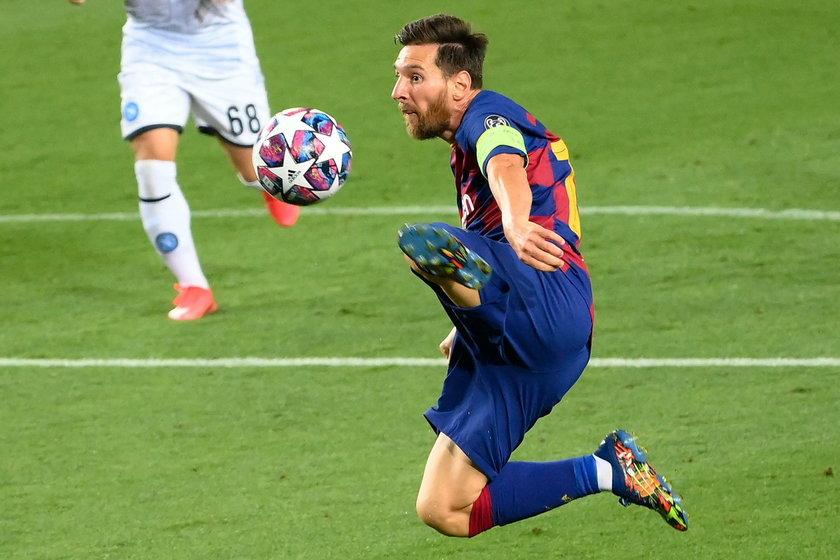 Leo Messi (33 l.) będzie chciał za wszelką cenę wciągnąć Barcelonę do półfinału
